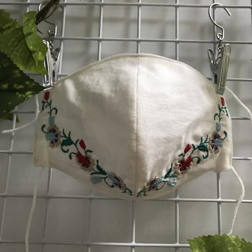 マスク に 刺繍