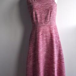 19b31cbc74250 受注製作 あなただけの着物リメイクワンピース 選べる生地ピンク シルク ...