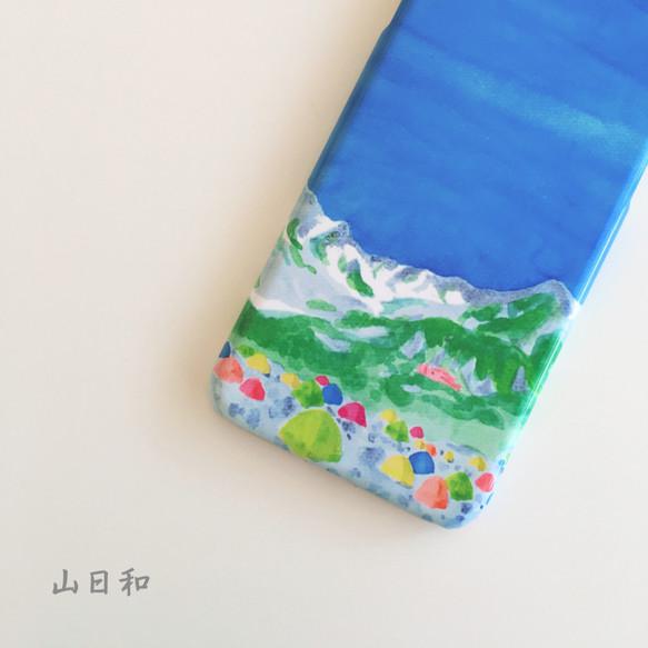 176ffe66f5 【山日和】涸沢カールの登山ケース♪○iPhone/Android○スマホケース・カバー