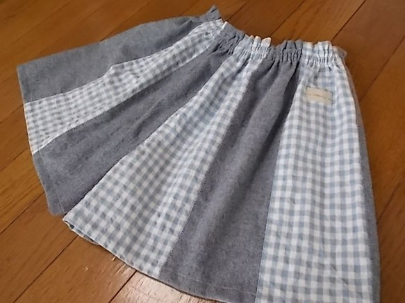 56ba9288b86a5 キュロットギャザースカート(キッズ) 子供服 rara mark 通販 Creema ...