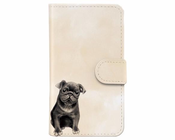 パグ犬iphoneケース Iphoneケースカバー Mice 通販creema