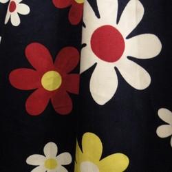 1977a88a4e5d84 日本製レトロデイジー柄コットンギャザースカート スカート Hanako 通販|Creema(クリーマ) ハンドメイド・手作り・クラフト作品の販売サイト