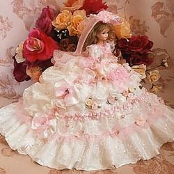 4dd4745e458f6 ドール服 着せ替え お姫様ドレス レース 薔薇の花園 人形 rose reine ☆ ローズレーヌ 通販|Creema(クリーマ)  ハンドメイド・手作り・クラフト作品の販売サイト