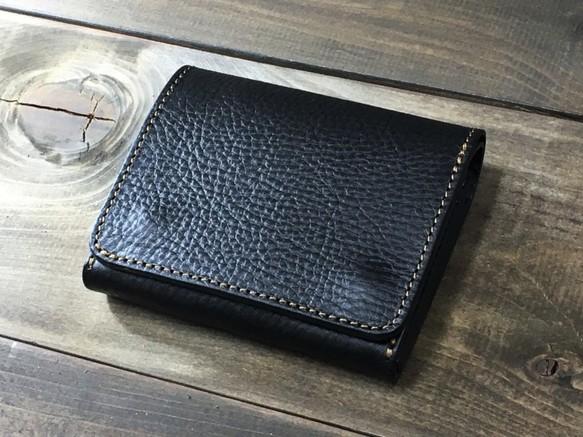 1fb7b4cae4e9 ミニマルウォレット 持つ人を選ばないシンプルな装いと機能 ブラック 財布・二つ折り財布 RoughWellDesign