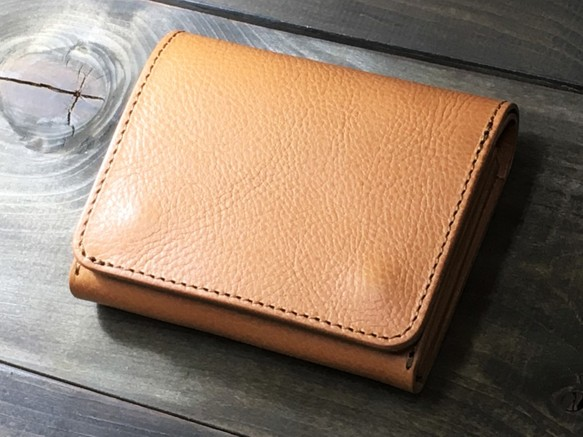 a470d76c89eb ミニマルウォレット 持つ人を選ばないシンプルな装いと機能 ナチュラル 財布・二つ折り財布 RoughWellDesign