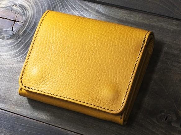 55d43c34ddd0 ミニマルウォレット 持つ人を選ばないシンプルな装いと機能 ひまわり 財布・二つ折り財布 RoughWellDesign