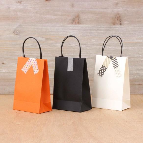 手提げ袋(S)120×80×45㎜ 日本製 ギフトバッグ 紙袋 box ...