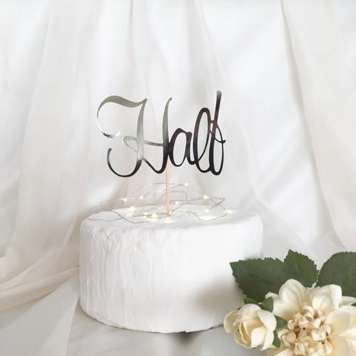 ハーフバースデーケーキトッパー 6カ月のお祝いに 飾り付け 再販2 雑貨 その他 Pupua 通販 Creema クリーマ ハンドメイド 手作り クラフト作品の販売サイト