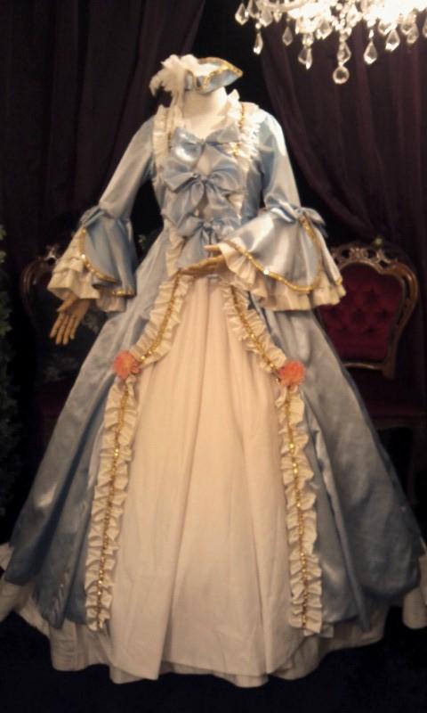 姫袖ロココ調ドレス&トリコーン