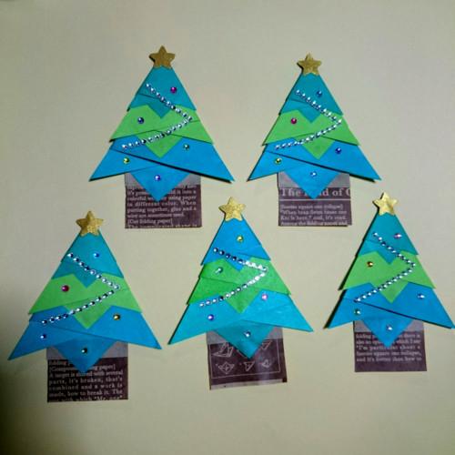 クリスマス折り紙
