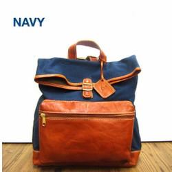c1f1f27825b5 送料無料!日本製 サーチ 本革リュック 裏地ドットがかわいいバッグ ...