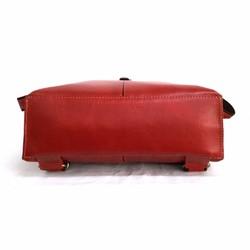 03577273ec09 日本製 サーチ 本革リュック 裏地ドットがかわいいバッグレザー赤レッド. 作品紹介文 ...
