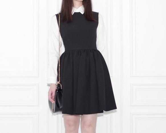 44fcbd03c8cdc クラシックブラックワンピースドレス ワンピース・チュニック LillianOtto