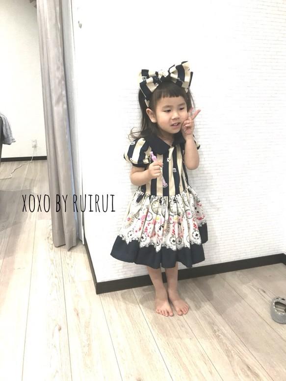 5931aef1d8541 ゆめかわ♡うさぎさんパフスリーブワンピースかけるカチューシャ 子供服 ...