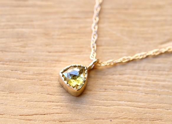 Golden yellow diamond necklacelilyco golden yellow diamond necklace mozeypictures Choice Image