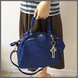 112633c0fca4 女性の味方レディースバッグ Sサイズ ママバッグ 通勤バッグ ハンドバッグ ロイヤルブルー
