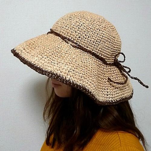 エコアンダリヤのおしゃれ帽子
