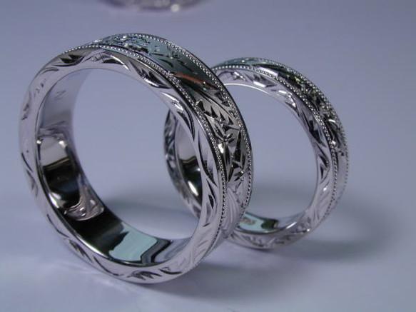 「プラチナ 指輪 画像」の画像検索結果