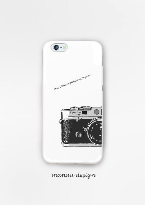 名入れ可イラストスマホケースno2カメラ Iphoneケースカバー