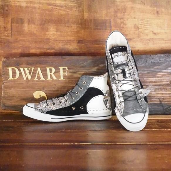 a2d538a2fa48 受注制作】シルバークロコチクチク靴 HI 16ピース シューズ・靴 DWARF ( ドワーフ ...