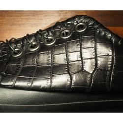 125a7ad8bf4a 受注制作】 クロコダイル靴 ローカット JP シューズ・靴 DWARF ( ドワーフ ...