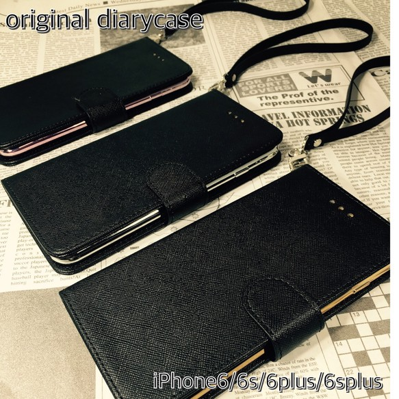 de8b53b8ab 組み合せ自由☆【iphone6/6s/6plus/6splus対応】手帳型 ストラップ【送料無料】