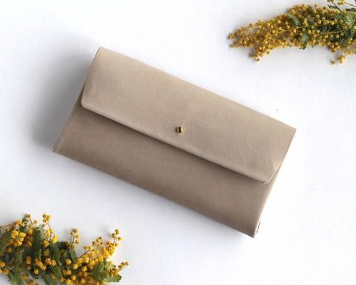 bdddae1f2d44 suare long wallet #graige/ スアレロングウォレット 長財布 #グレージュ