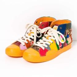 "6b936292b0b19 リメイクスニーカー ""Weekender"" 25.5cm シューズ・靴 Ripery`s Sugar 通販|Creema(クリーマ)  ハンドメイド・手作り・クラフト作品の販売サイト"