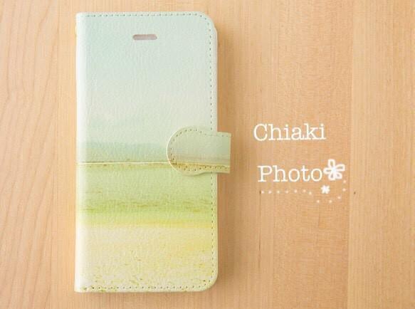9db7efdc7b 全機種対応】優しい海*iphone/Androidスマホケース【手帳型】 iPhone ...