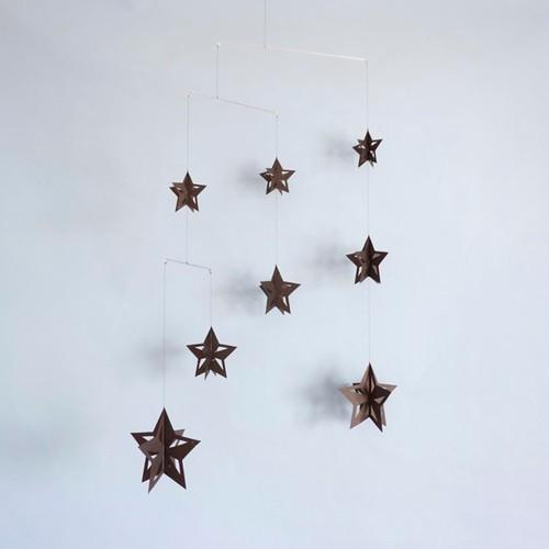 モビール「星B」その2