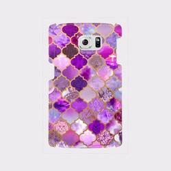 アラベスクタイルパターン dawn purple xperia galaxy aquos 等多
