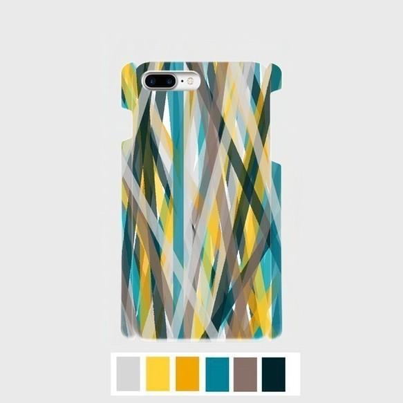 アートペイント ミックスストライプ (summer fes)iphone 6plus/7plus/8plus 専用 | 508crewのiPhoneケース・カバー