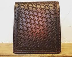 a5e9ee95d5e5 茶色 財布・二つ折り財布 のおすすめ人気通販 Creema(クリーマ ...