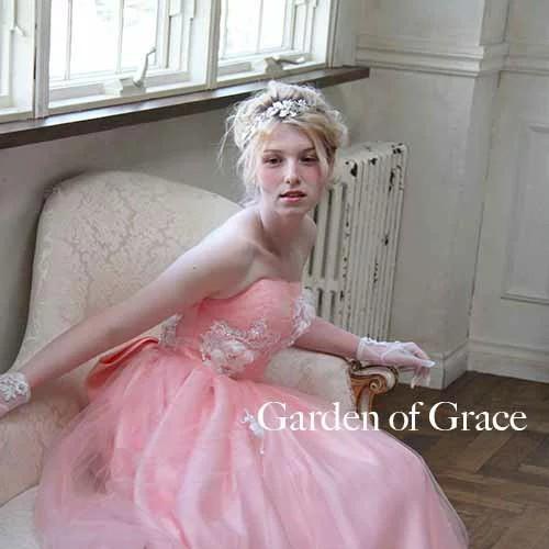 5afc3a50476f0 ウエディングドレス マーガレットメリルAド レスピンク 二次会ドレス 花嫁 ドレス Fleur Antoine