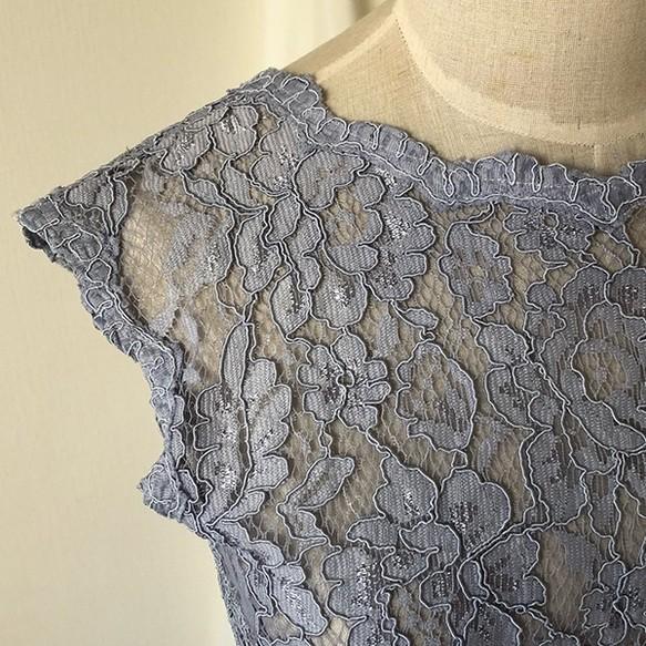 67f9337ae320e カラードレスに合わせてボレロの染色 ドレス Fleur Antoine 通販 ...
