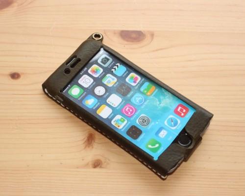 efb5fd15bd iPhone6用 革ケース(ダークブラウン) iPhoneケース・カバー テレピン ...