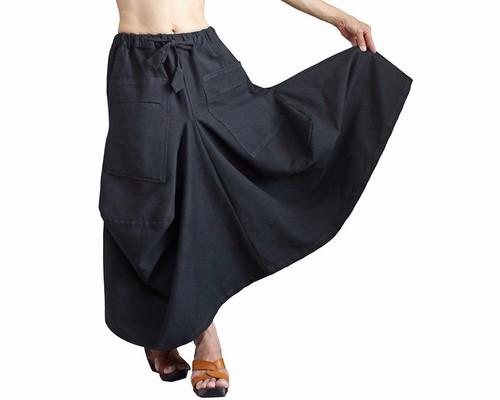 9cffaf0aad8dfb 再販リボン付きフレヤーギャザースカート リボン取外し着回し出来ます ...