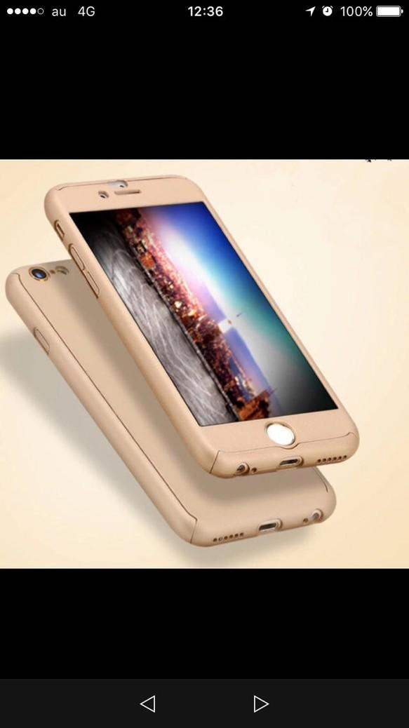 d8d74b377a ゴールドiPhone6/6sケース 全面保護フルカバー iPhoneケース・カバー ...