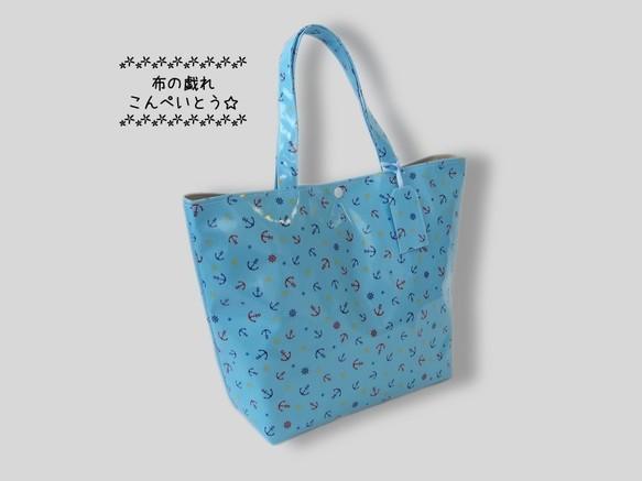 33d4a045999 プールバッグ、ビーチバッグにおすすめ☆ネームタグ付ラミネート・トート ...