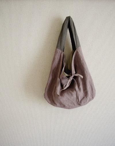 ずた袋 グレイッシュパープル|...