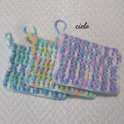 たわし 手編み アクリル 【編み図不要】アクリルたわしの編み方 簡単な手編みのエコたわしの作り方をご紹介!