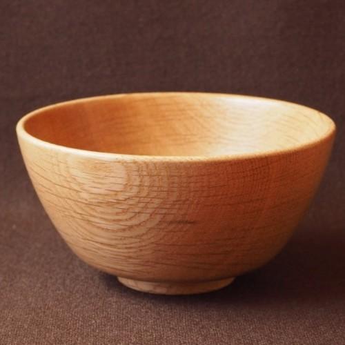 木製 ご飯茶碗(ナラ)no.1 茶碗・めし碗 木器 通販 Creema(クリーマ ...