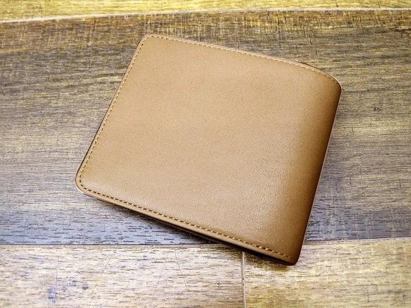 44824651ef23 初お披露目特別価格!】本革二つ折財布 ポケットたくさん多機能 ...