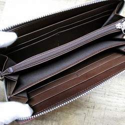 175860cfa4fb 本革長財布 ラウンドファスナー ムラムラが魅力的なプルアップ焦茶 長財布 sansho-leather 通販|Creema(クリーマ) ハンドメイド・ 手作り・クラフト作品の販売サイト
