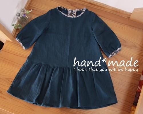 cb44d2beeeddf 大きめリボンのデニムギャザースカート 子供服 ♡ichizu 通販|Creema ...