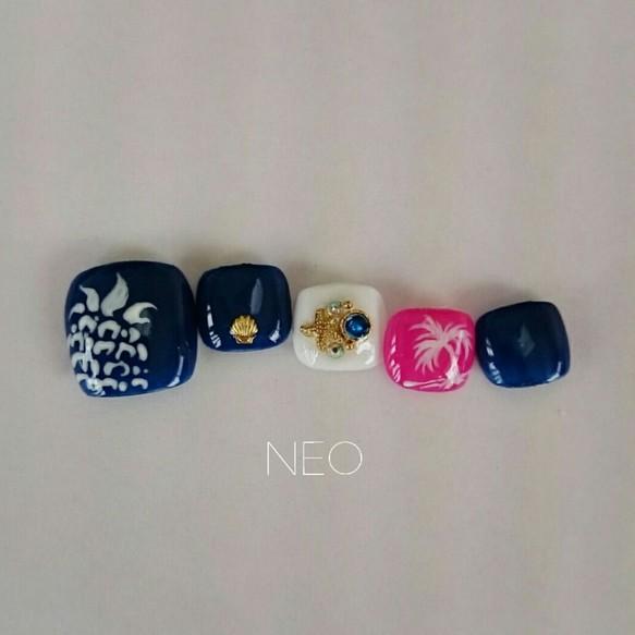 パイナップル♡フットネイル ネイルチップ nail shop.NEO