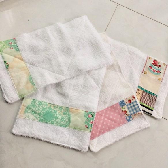 再販】女の子用 雑巾4枚セット ...