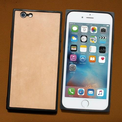 iPhone系☆スクエアケース 本革 ヌメ革 iPhone8 iPhoneX iPhone8 Plus ...