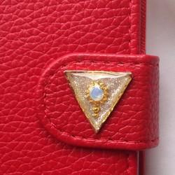 2a6cc456aa iPhone5 5s iPhone6 iPhone SE 手帳 携帯 ケース カバー 赤 かわいい 綺麗 スタンド iPhoneケース・カバー  SPLENDID 通販|Creema(クリーマ) ハンドメイド・手作り・ ...