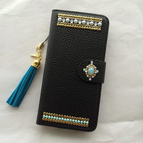 25b6c5bb04 iPhone 5/5s SE 6/6s 携帯カバー ケース 手帳 黒 秋 おしゃれ かわいい ...